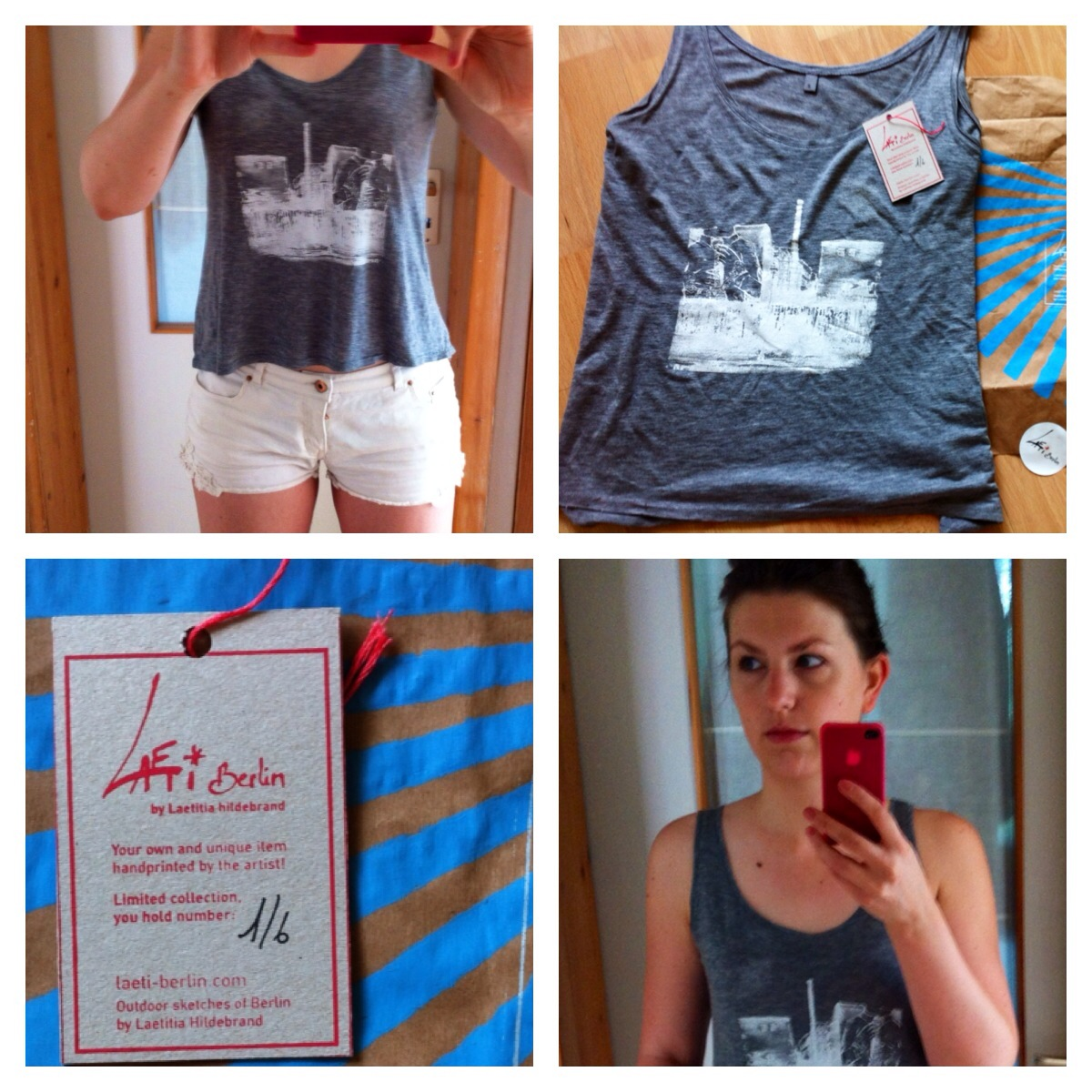 T-Shirt von Leatitita Hildebrand aka Laeti-Berlin