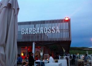 Barbarossa - Strandbar in Scheveningen