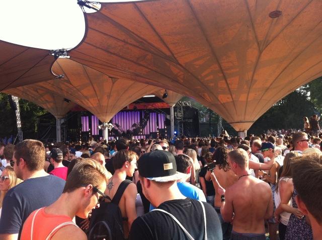 Mobile Beats Festival - Hauptbühne