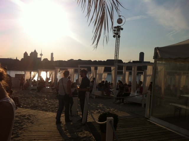 Mobile Beats Festival - Chillout Bereich