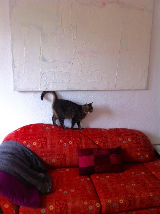 Neues Bild im Gästezimmer