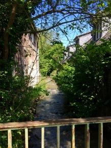 Bachlauf an der Saaler Mühle