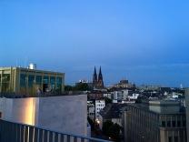 Ausblick von der Dachterrasse der Monkey Bar