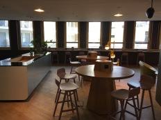 Café und Co-Working-Bereich