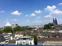 Ausblick von der Dachterrasse des NENI Restaurants